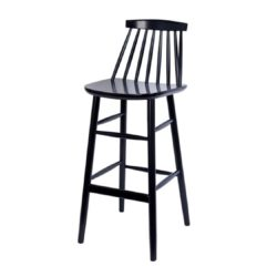 Hartley Bar Stool Spindle Back Wood Bar Stool J77 Model