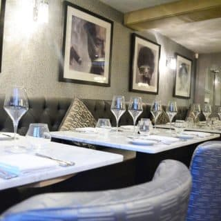 The Blue Crown Brentwood restaurant furniture by DeFrae Contract Furniture