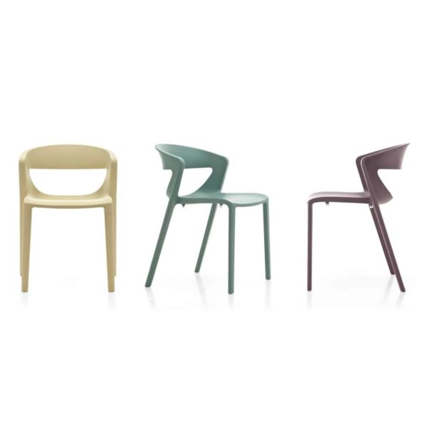 Hula Side Chair Kikka One DeFrae Contract Furniture Colours
