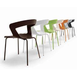 Ibis Armchair Stackable Outdoor Chair ETAL DeFrae Contract Furniture Colours
