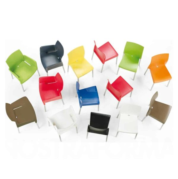 Ice Armchair Pedrali at DeFrae Contract Furniture Colours
