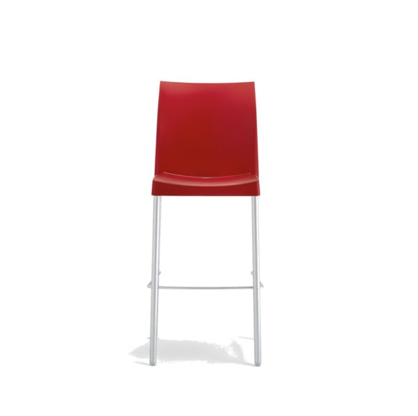 Ice Bar Stool Pedrali at DeFrae Contract Furniture Red