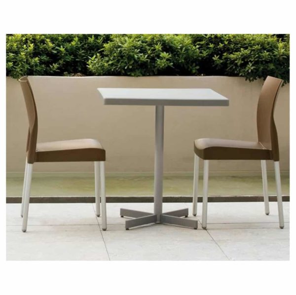 Ice Side Chair Pedrali at DeFrae Contract Furniture Stackable Brown