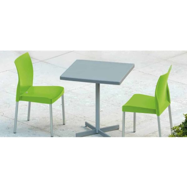 Ice Side Chair Pedrali at DeFrae Contract Furniture Stackable In Situ