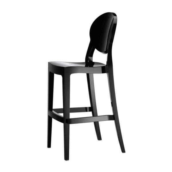 Igloo bar stool black DeFrae Contract Furniture