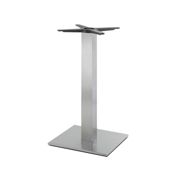 Inox Square Table Base 4411 Pedrali at DeFrae Contract Furniture