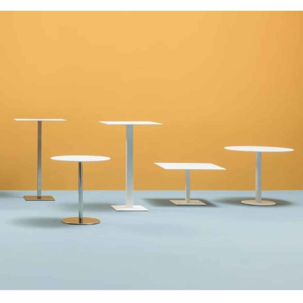 Inox Square Table Base 4411 Pedrali at DeFrae Contract Furniture Range