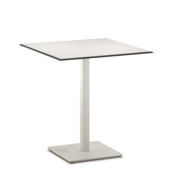 Inox SquareTablebase Pedrali at DeFrae Contract Furniture 4402