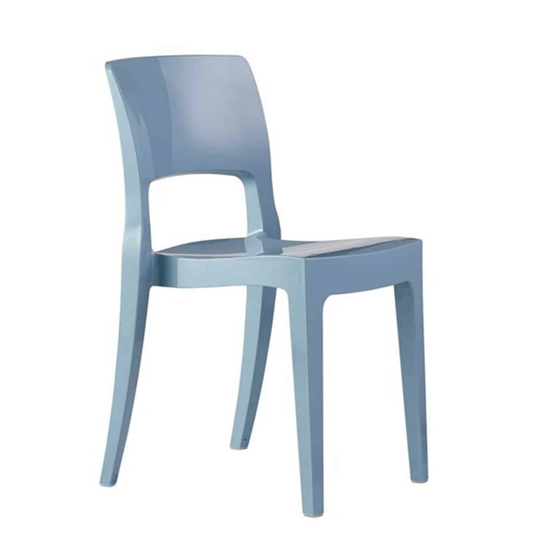 Ivy side chair Scab Design Isy Outdoor contact chair Blue