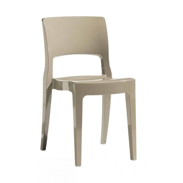 Ivy side chair Scab Design Isy Outdoor contact chair Taupe