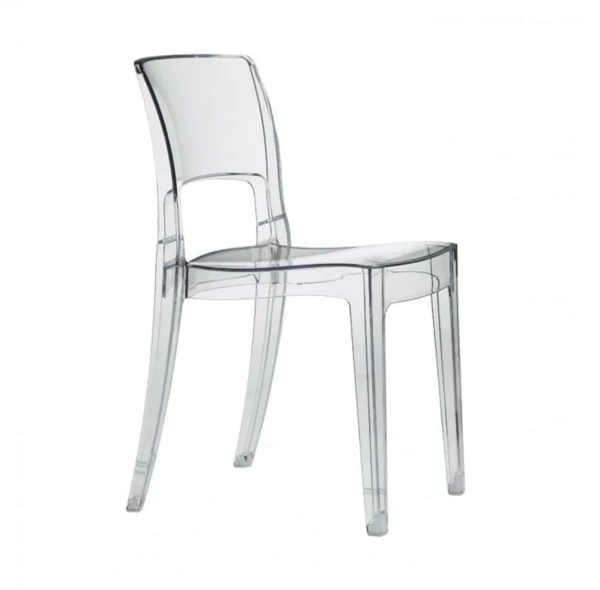 Ivy side chair Scab Design Isy Outdoor contact chair anti shock translucent