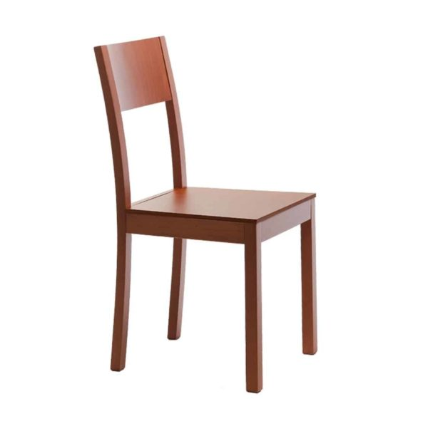 Izzy Side Chair Wooden Restaurant Chair DeFrae Contract Furniture