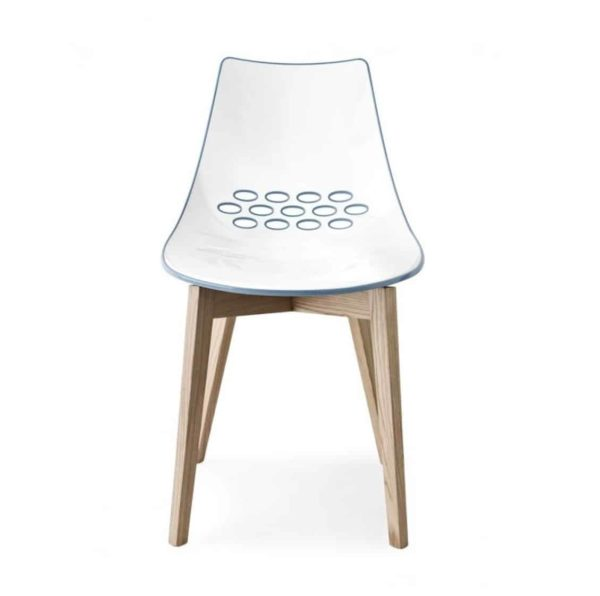 Jam |W Chair Wood Frame Connubia by Calligaris at DeFrae Contract Furniture