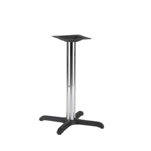 Jay Table Base DeFrae Contract Furniture Chrome