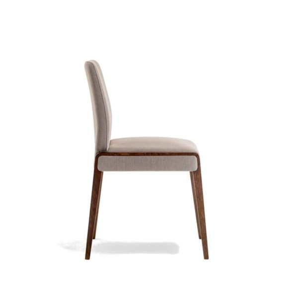 Jill Side Chair Pedrali at DeFrae Contract Furniture Side On View