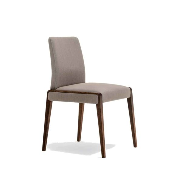 Jill Side Chair Pedrali at DeFrae Contract Furniture Side View