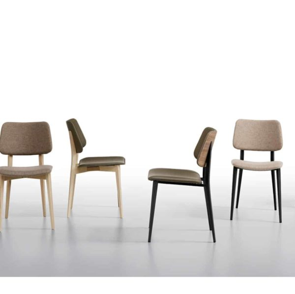 Joe Side Chair by Midj at DeFrae Contract Furniture Range