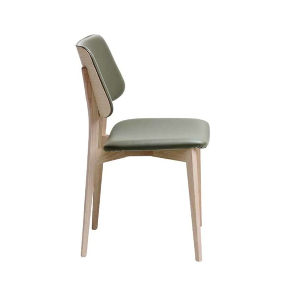 Joe Side Chair by Midj at DeFrae Contract Furniture Range Curved Back Rest