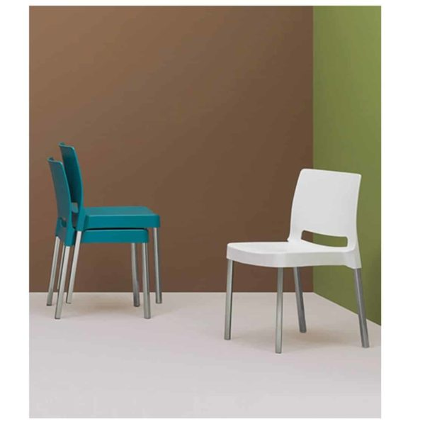 Joi Side Chair Pedrali at DeFrae Contract Furniture In Situ