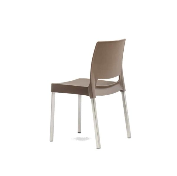 Joi Side Chair Pedrali at DeFrae Contract Furniture Sand