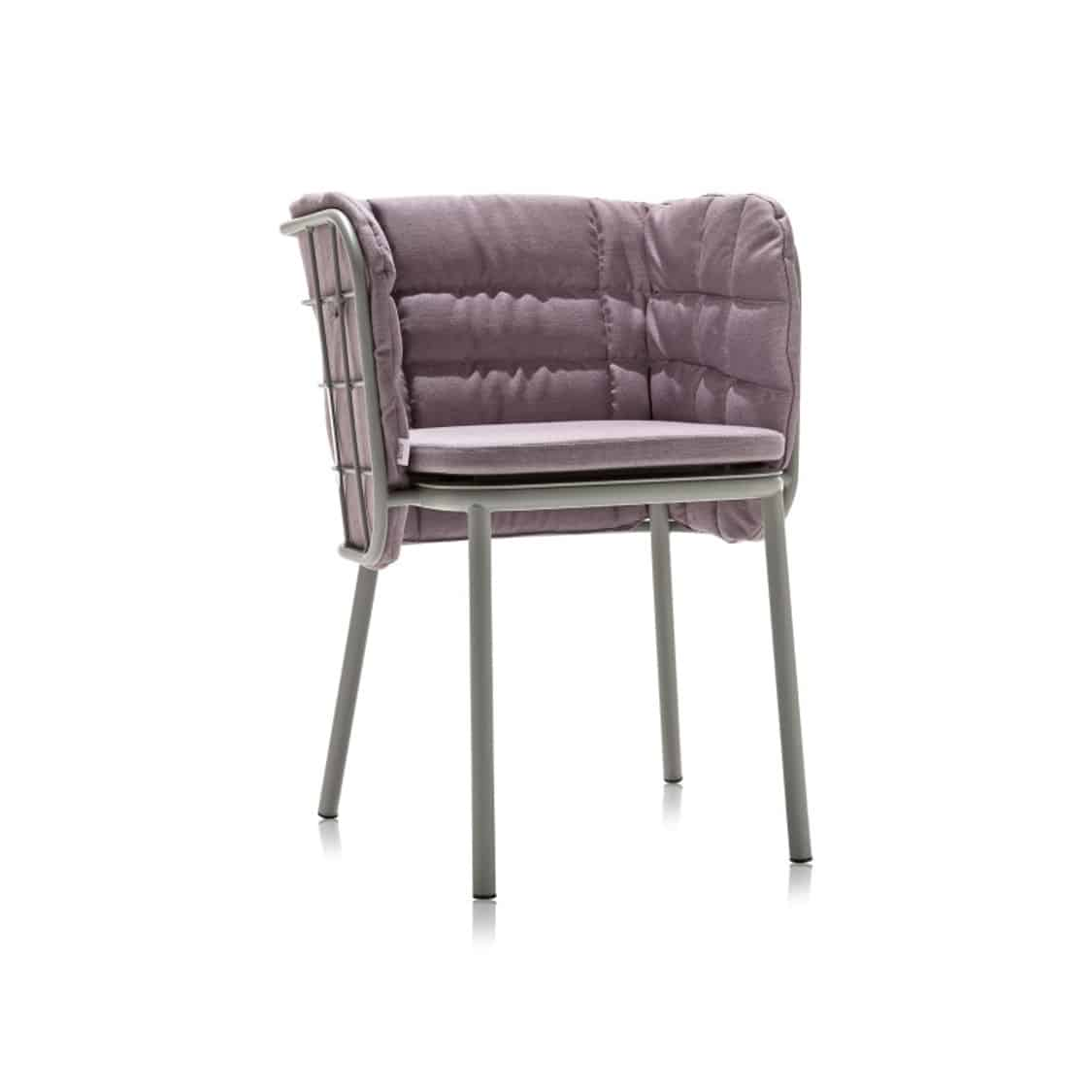 JuJube Armchair DeFrae Contract Furniture Indigo With Cushions