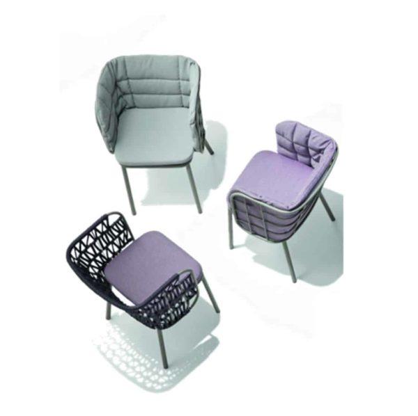 JuJube Armchair Range DeFrae Contract Furniture Above