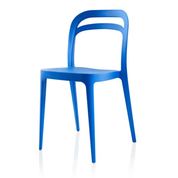 Julie Side Chair DeFrae Contract Furniture Blue