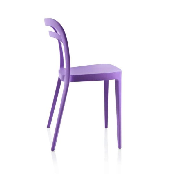 Julie Side Chair DeFrae Contract Furniture Lilac Purple