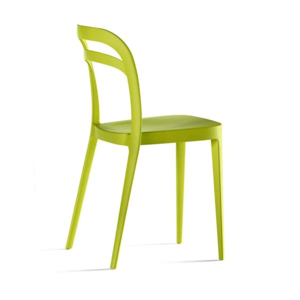 Julie Side Chair DeFrae Contract Furniture Lime Green
