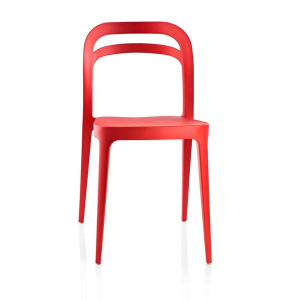 Julie Side Chair DeFrae Contract Furniture Red