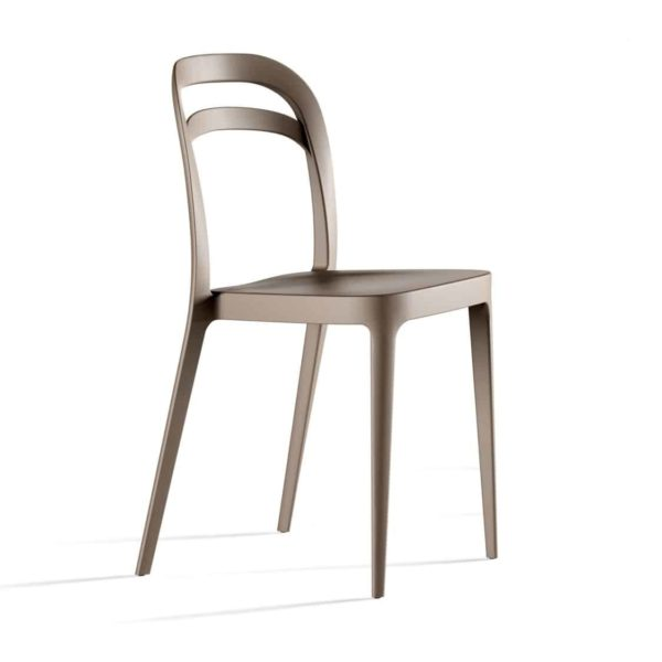 Julie Side Chair DeFrae Contract Furniture Taupe