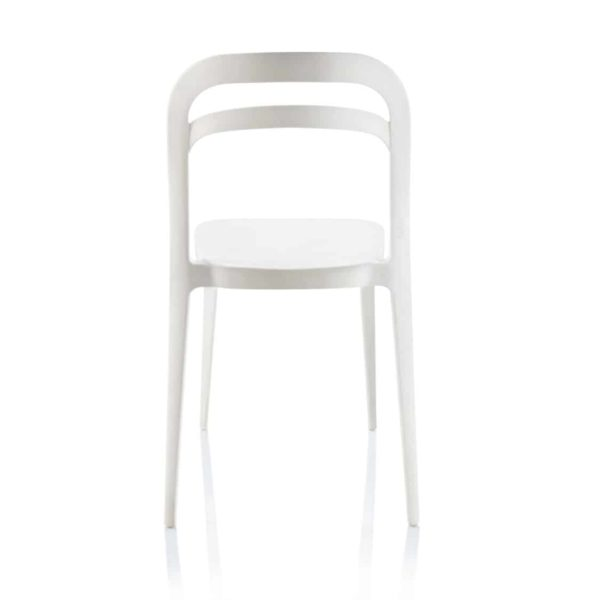 Julie Side Chair DeFrae Contract Furniture White
