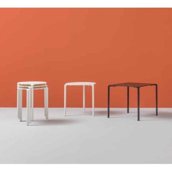 Jump Table TJ3 Pedrali at DeFrae Stackable Outdoor Complete Table Range