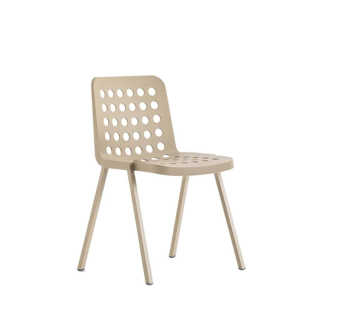 KOI side chair-BOOKI-370 Sand Pedrali at DeFrae Contract Furniture Hero