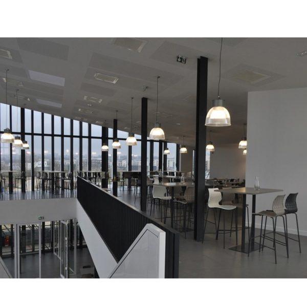 Kai Bar Stool Uni 378 Et Al Metal Frame DeFrae Contract Furniture In Situ