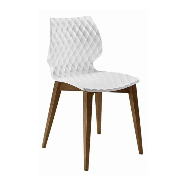 Kai Side Chair Uni 562 Et Al Wooden Frame DeFrae Contract Furniture