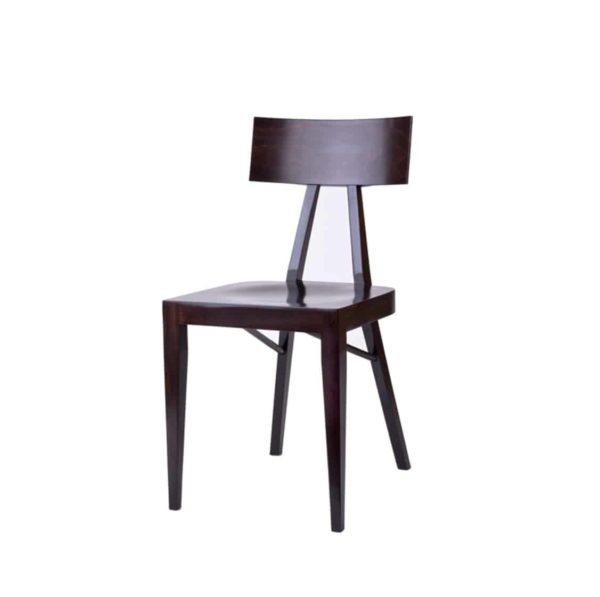 Kite Side Chair Akka Black Wood Bar Stool DeFrae Contract Furniture Hero