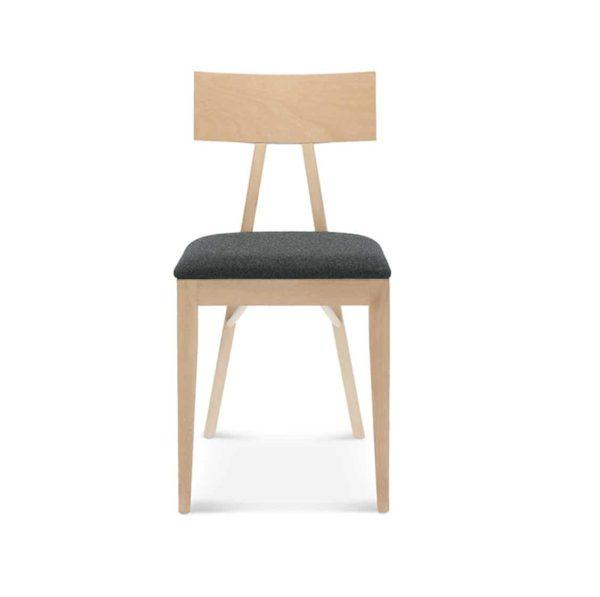 Kite Side Chair Akka Black Wood Bar Stool DeFrae Contract Furniture Upholstered Seat