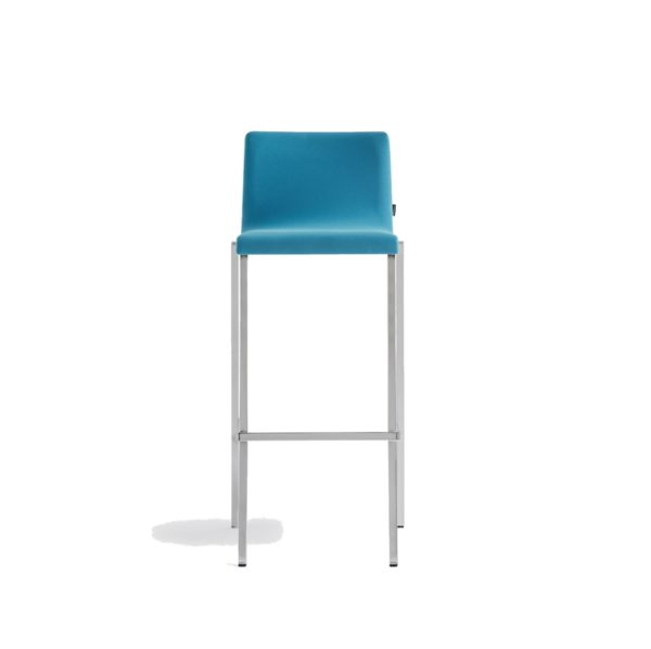 Kuadra Soft Bar Stool 1126 DeFrae Contract Furniture