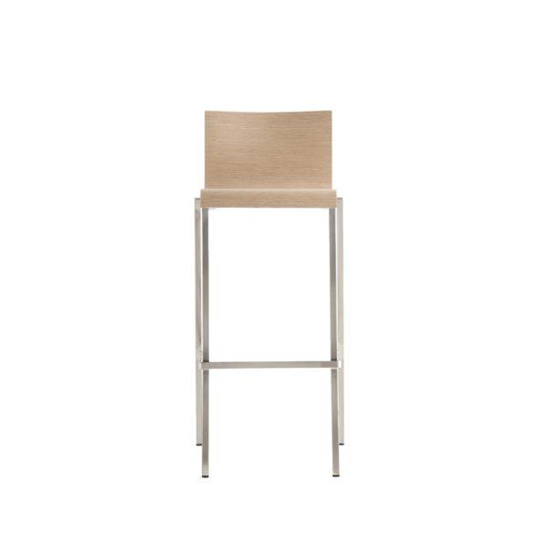 Kuadra Wood Bar Stool 1326 DeFrae Contract Furniture