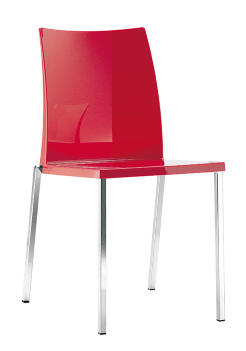Kaudra Side Chair Red