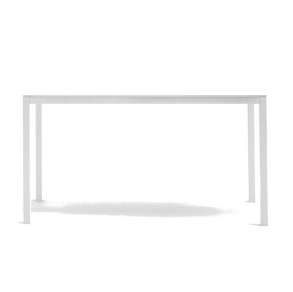 Kuadro Rectangle Table With Legs DeFrae Contract Furniture