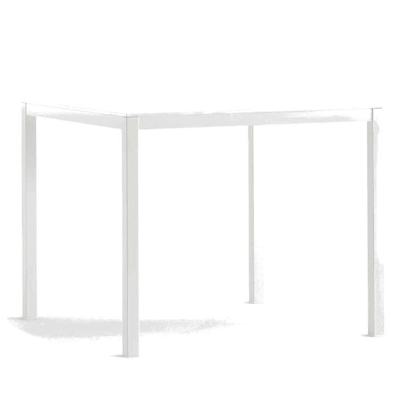 Kuadro Square Table With Legs DeFrae Contract Furniture