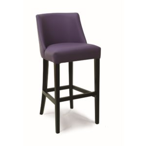 Laguna Bar Stool Classic Legs DeFrae Contract Furniture