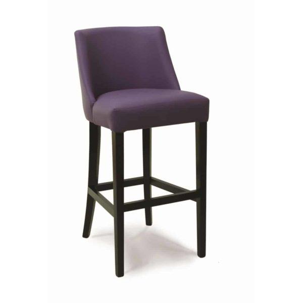 Laguna Bar Stool Classic Legs DeFrae Contract Furniture