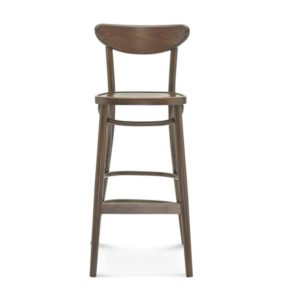 Leo Bar Stool Bentwood Fameg 1260 stool DeFrae Contract Furniture Front View