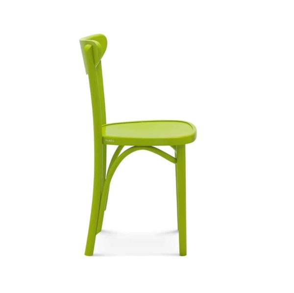Leo Side Chair Bentwood Fameg 1260 stool DeFrae Contract Furniture Side View