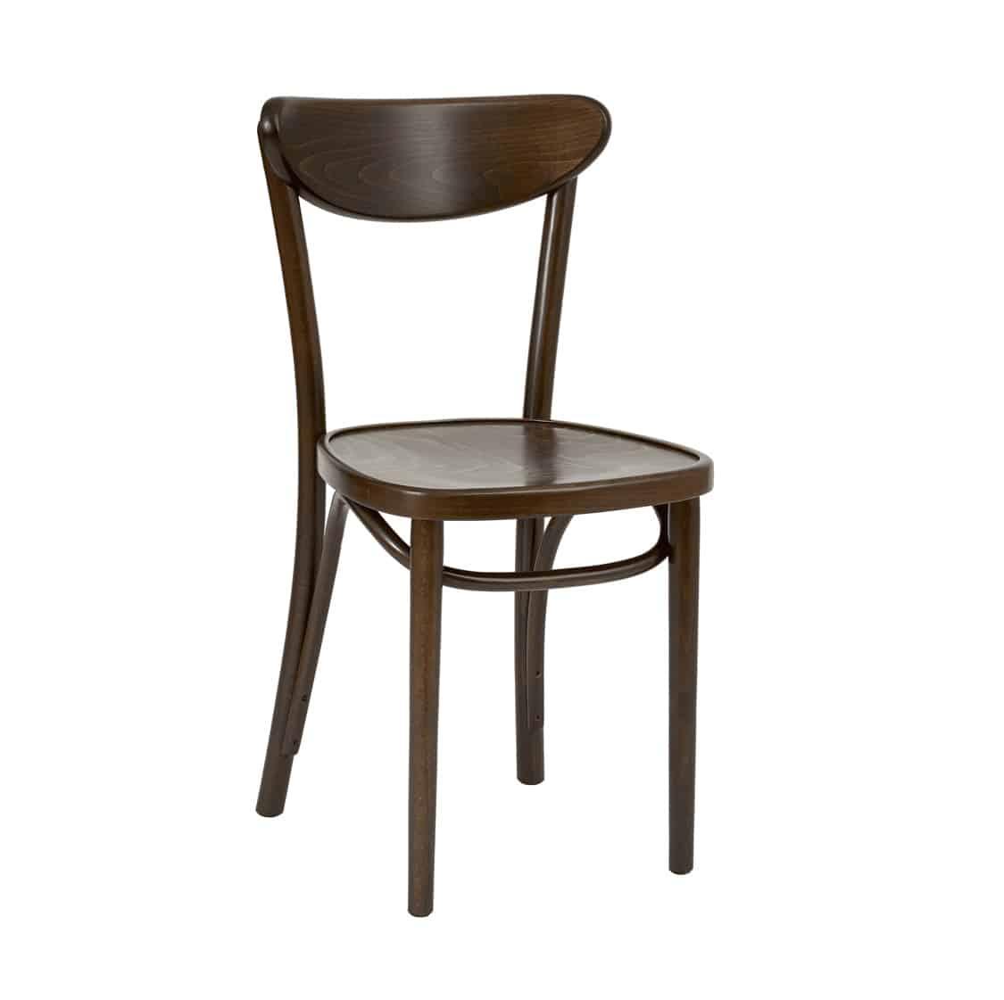 Leo Side Chair Bentwood Fameg 1260 stool DeFrae Contract Walnut