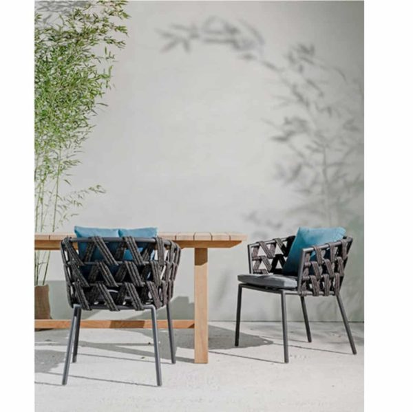 Leone Armchair Leo Vincent Sheppard at DeFrae Contract Furniture
