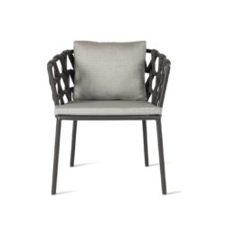Leone Armchair Leo Vincent Sheppard at DeFrae Contract Furniture Front View